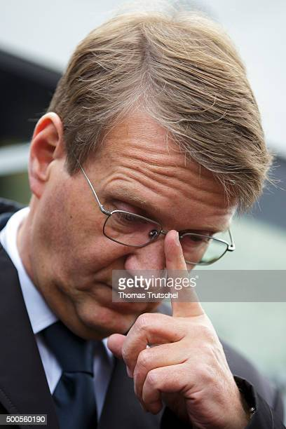 Ronald Pofalla former Chief of Staff of the German Chancellery and member of the supervisory board of Deutsche Bahn on December 09 2015 in Erfurt...
