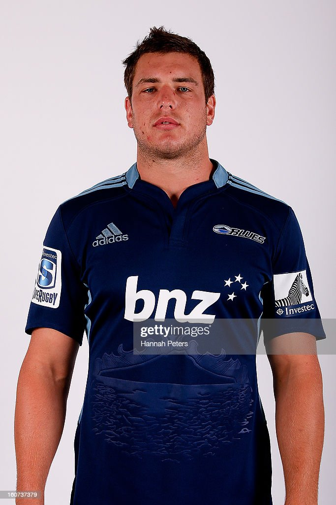 Ronald Raaymakers poses for a portrait during the 2013 Blues headshots session on February 5, 2013 in Auckland, New Zealand.