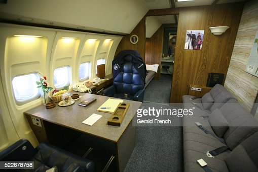 Ronald Reagan Air Force One Interior With Presidential