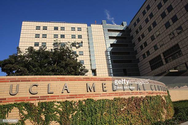 Ronald Reagan UCLA Medical Center is seen on October 9 2008 in Los Angeles California California State Treasurer Bill Lockyer has warned that...