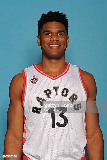 Ronald Roberts of the Toronto Raptors poses for a photo during media day on September 28 at the Air Canada Centre in Toronto Ontario Canada NOTE TO...