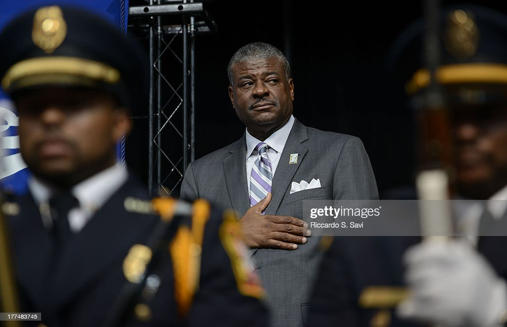 Ronald Stroman attends the U.S. Postal Service Unveiling of the 1963 March On Washington Stamp on August 23, 2013 in Washington, United States.