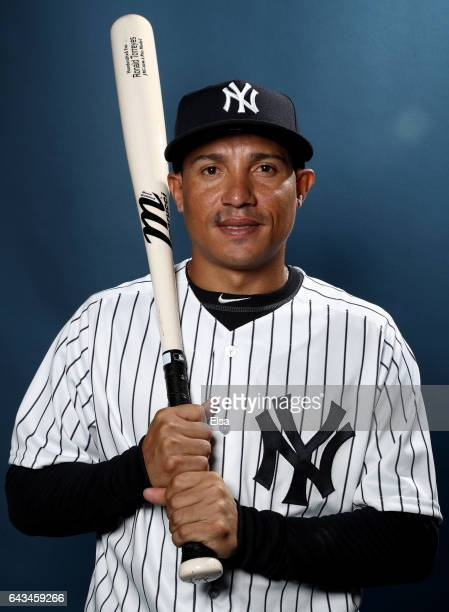 Ronald Torreyes of the New York Yankees poses for a portrait during the New York Yankees photo day on February 21 2017 at George M Steinbrenner Field...