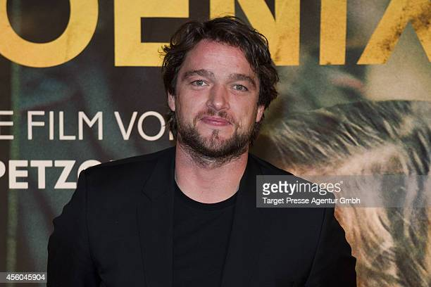 Ronald Zehrfeld attends the 'Pheonix' premiere at Kino International on September 24 2014 in Berlin Germany