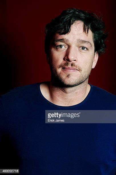 Ronald Zehrfeld poses for a portrait session on February 11 2014 in Berlin Germany