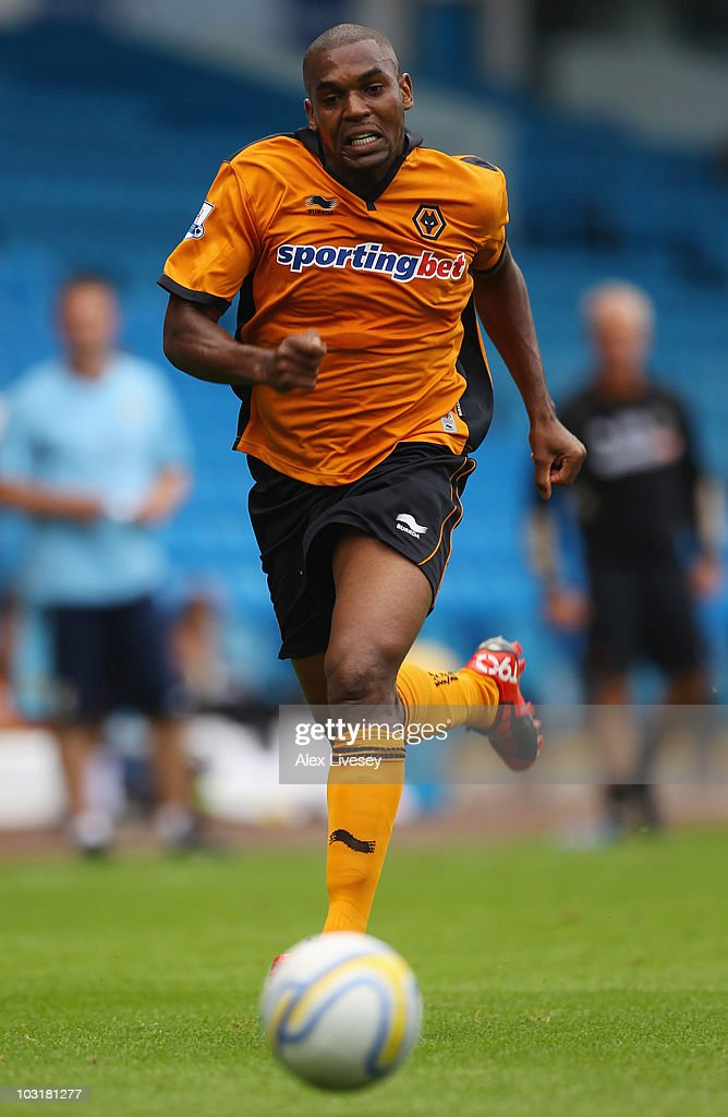 <a gi-track='captionPersonalityLinkClicked' href=/galleries/search?phrase=Ronald+Zubar&family=editorial&specificpeople=1295892 ng-click='$event.stopPropagation()'>Ronald Zubar</a> of Wolverhampton Wanderers during the pre-season friendly match between Leeds United and Wolverhampton Wanderers at Elland Road on July 31, 2010 in Leeds, England.