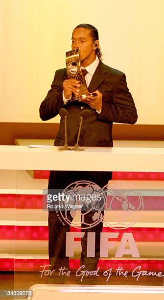 Ronaldinho during FIFA World Player Gala 2005 Awards Ceremony at Opera House in Zurich Switzerland