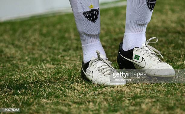 Ronaldinho Gaucho of Atletico MG during a match between Atletico MG and Coritiba as part of the Brasilian Serie A Championship at Independencia...