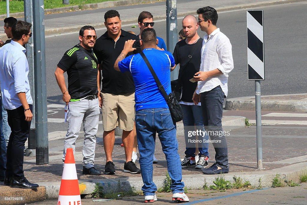 Ronaldo Lus Nazrio de Lima seen on May 25, 2016 in Milan, Italy.