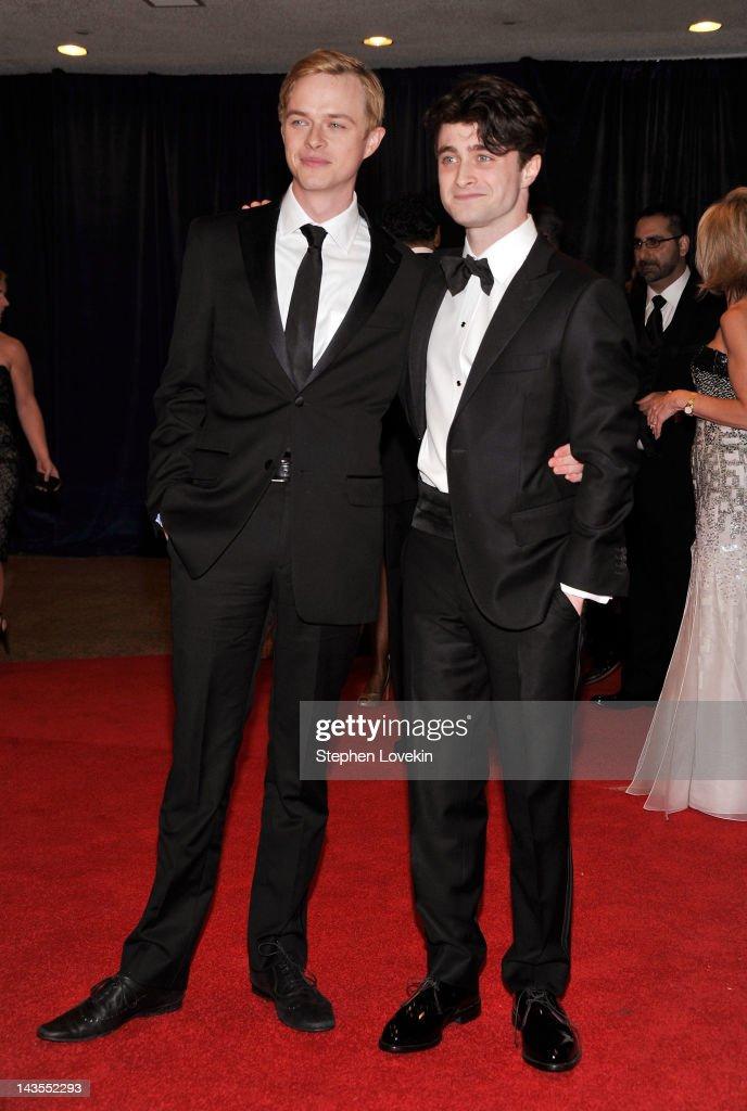 Ronan Farrow and Daniel Radcliffe attend the 98th Annual White House Correspondents' Association Dinner at the Washington Hilton on April 28, 2012 in Washington, DC.