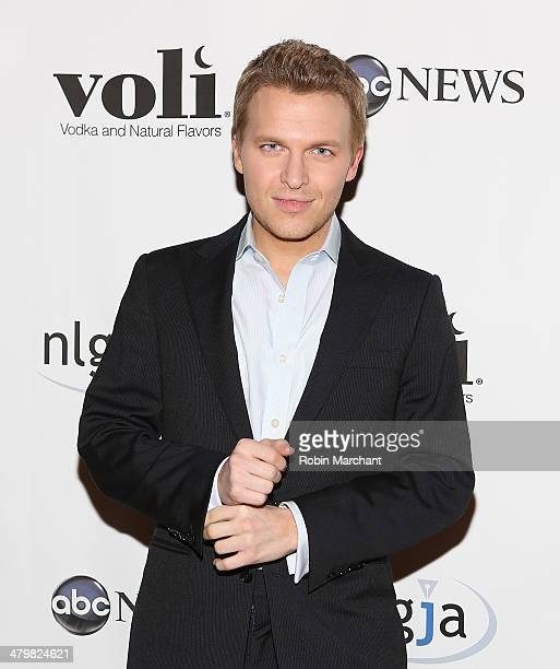 Ronan Farrow attends the 19th Annual National Lesbian And Gay Journalists Association New York Benefit at The Prince George Ballroom on March 20 2014...