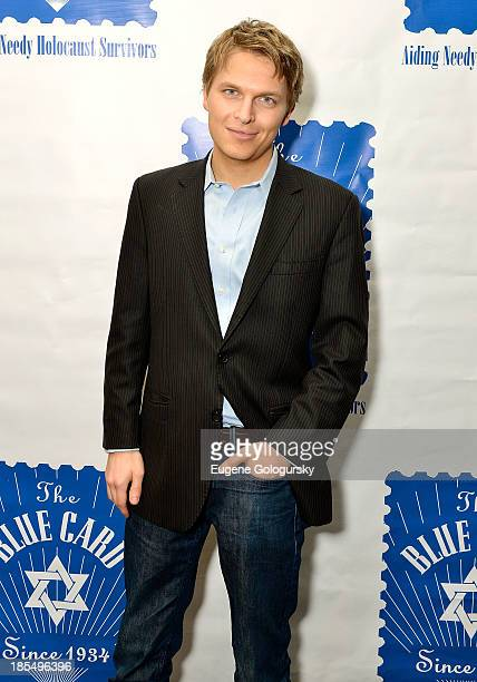 Ronan Farrow attends the 79th Annual Blue Card Benefit and Auction on October 21 2013 in New York City
