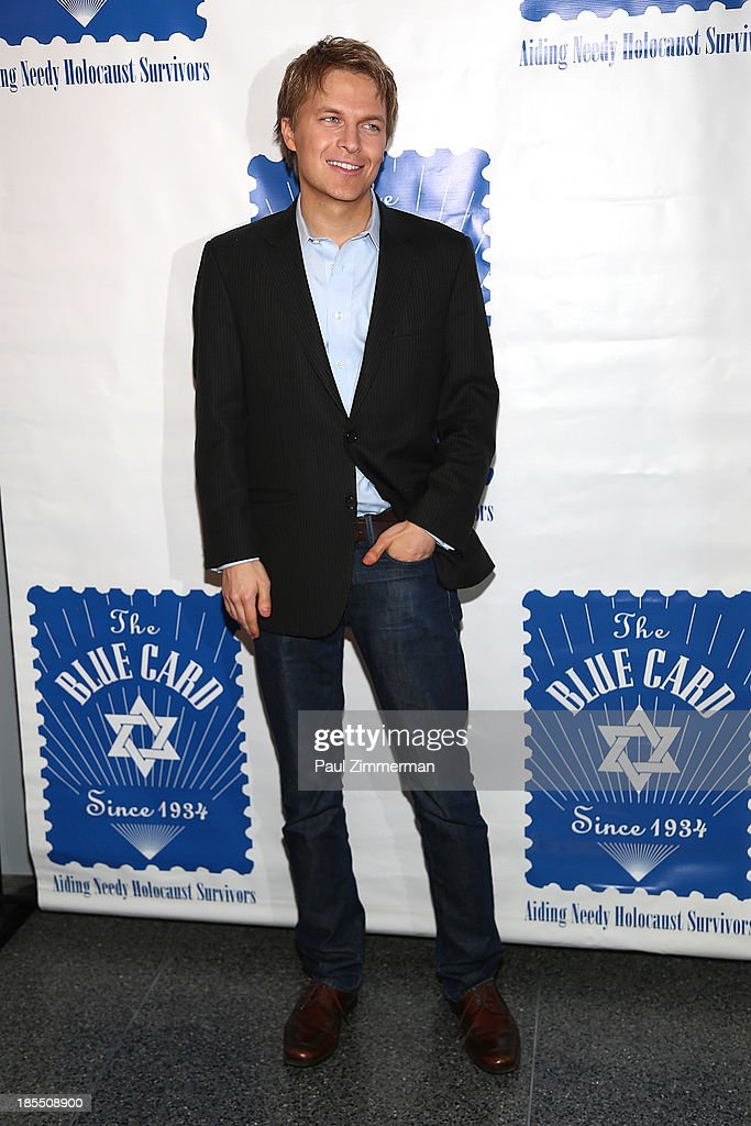 <a gi-track='captionPersonalityLinkClicked' href=/galleries/search?phrase=Ronan+Farrow&family=editorial&specificpeople=557294 ng-click='$event.stopPropagation()'>Ronan Farrow</a> attends the 79th annual Blue Card Benefit gala at American Museum of Natural History on October 21, 2013 in New York City.
