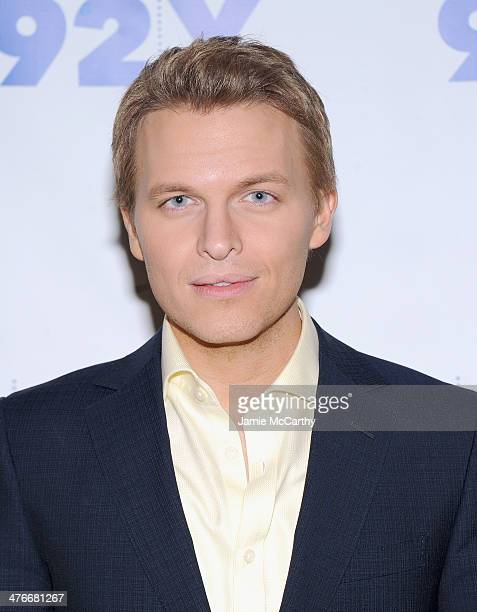 Ronan Farrow attends the '92nd Street Y Presents An Evening With Chelsea Handler And Ronan Farrow' at 92nd Street Y on March 4 2014 in New York City