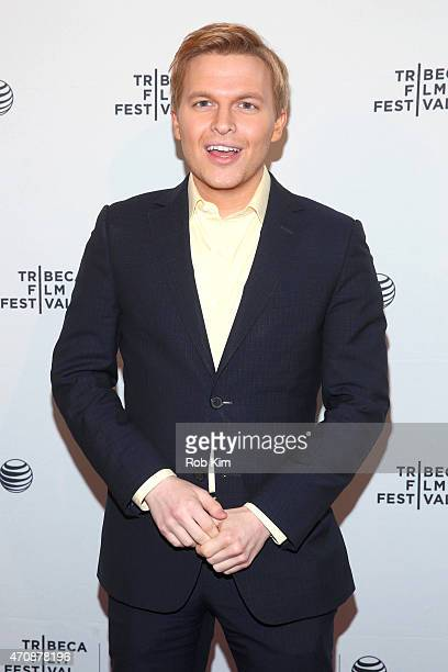 Ronan Farrow attends the premiere of 'The Diplomat' during the 2015 Tribeca Film Festival at the SVA Theater on April 23 2015 in New York City