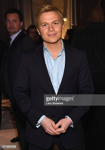 Ronan Farrow attends Time and People's annual cocktail party on White House Correspondents' Weekend at St Regis Hotel on April 24 2015 in Washington...