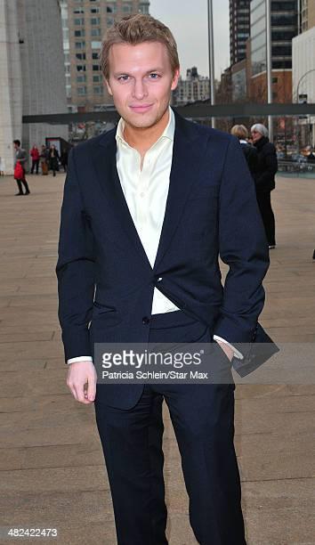Ronan Farrow is seen on April 3 2014 in New York City