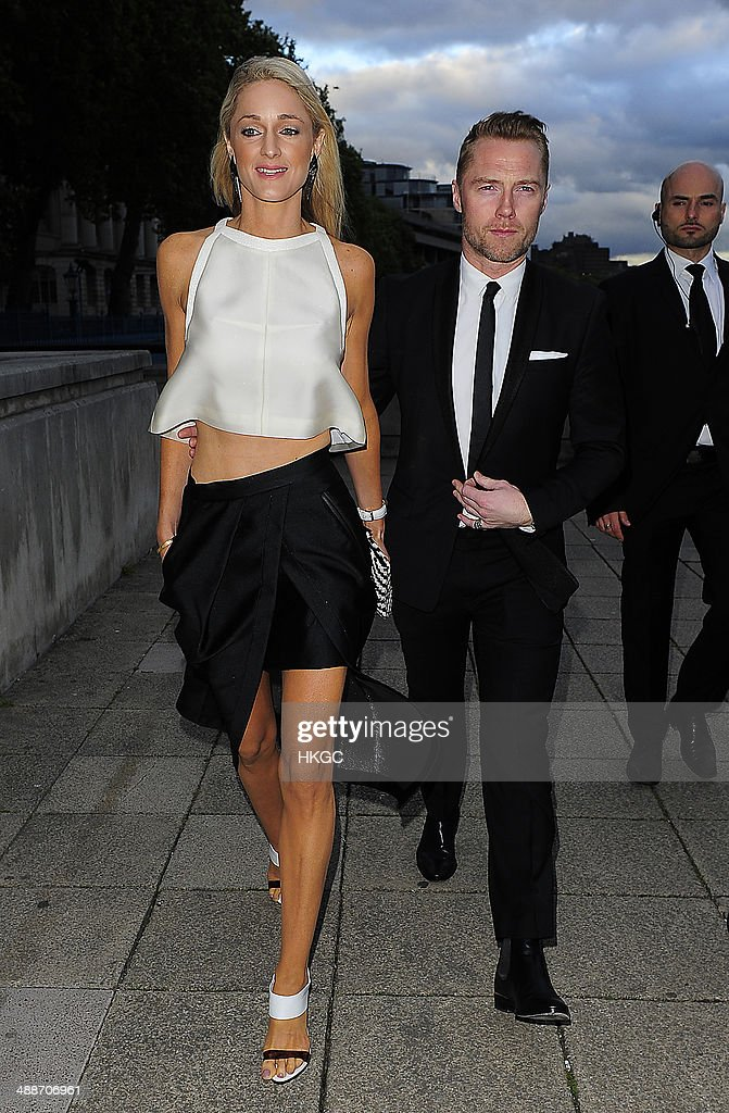 <a gi-track='captionPersonalityLinkClicked' href=/galleries/search?phrase=Ronan+Keating&family=editorial&specificpeople=201657 ng-click='$event.stopPropagation()'>Ronan Keating</a> and his Girlfriend Storm Keating attend Gabrielle's Angel Foundation for Cancer Research UK hosts its third annual 'Gabrielle's Gala' fundraiser, at Old Billingsgate on May 7, 2014 in London, England.