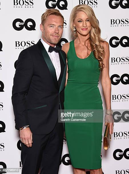 Ronan Keating and Storm Keating attend the GQ Men Of The Year Awards at The Royal Opera House on September 8 2015 in London England