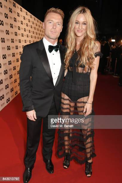 Ronan Keating and Storm Keating attend the GQ Men Of The Year Awards at the Tate Modern on September 5 2017 in London England