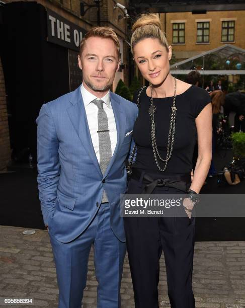 Ronan Keating and Storm Keating attends The Old Vic 199 Summer Party at The Brewery on June 13 2017 in London England