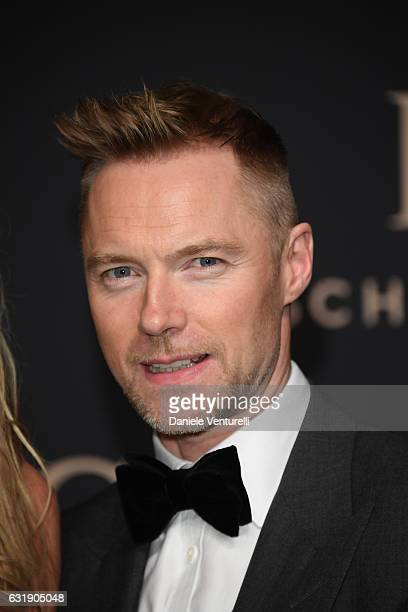 Ronan Keating arrives at IWC Schaffhausen at SIHH 2017 'Decoding the Beauty of Time' Gala Dinner on January 17 2017 in Geneva Switzerland