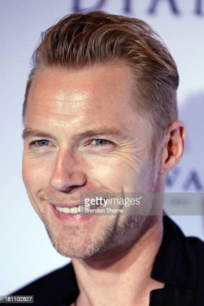 Ronan Keating arrives at the Australian premiere of 'Diana' at Event Cinemas George Street on September 19 2013 in Sydney Australia