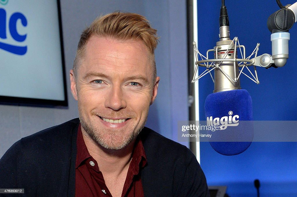 Ronan Keating Visits Magic Radio