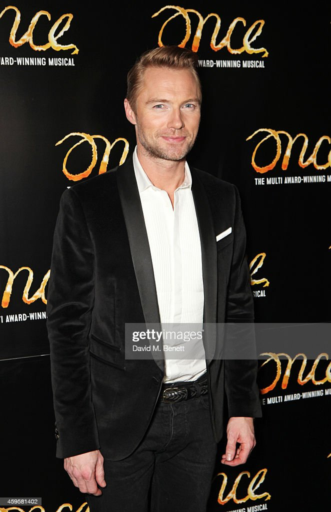 "Ronan Keating Joins The Cast Of ""Once"" - Press Night - After Party"