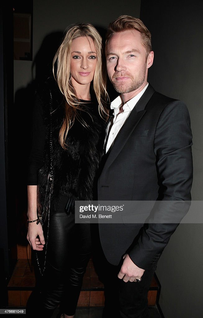 <a gi-track='captionPersonalityLinkClicked' href=/galleries/search?phrase=Ronan+Keating&family=editorial&specificpeople=201657 ng-click='$event.stopPropagation()'>Ronan Keating</a> attends 'Symphonica' - George Michael Album Launch Party at Hamiltons Gallery on March 4, 2014 in London, England.