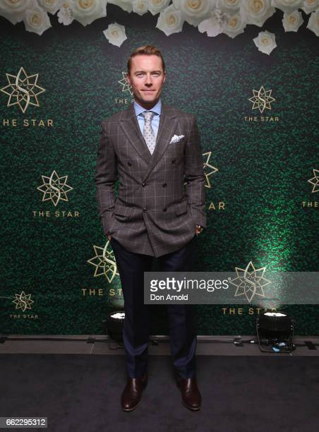 Ronan Keating attends The Championships Day 1 at Royal Randwick Racecourse on April 1 2017 in Sydney Australia