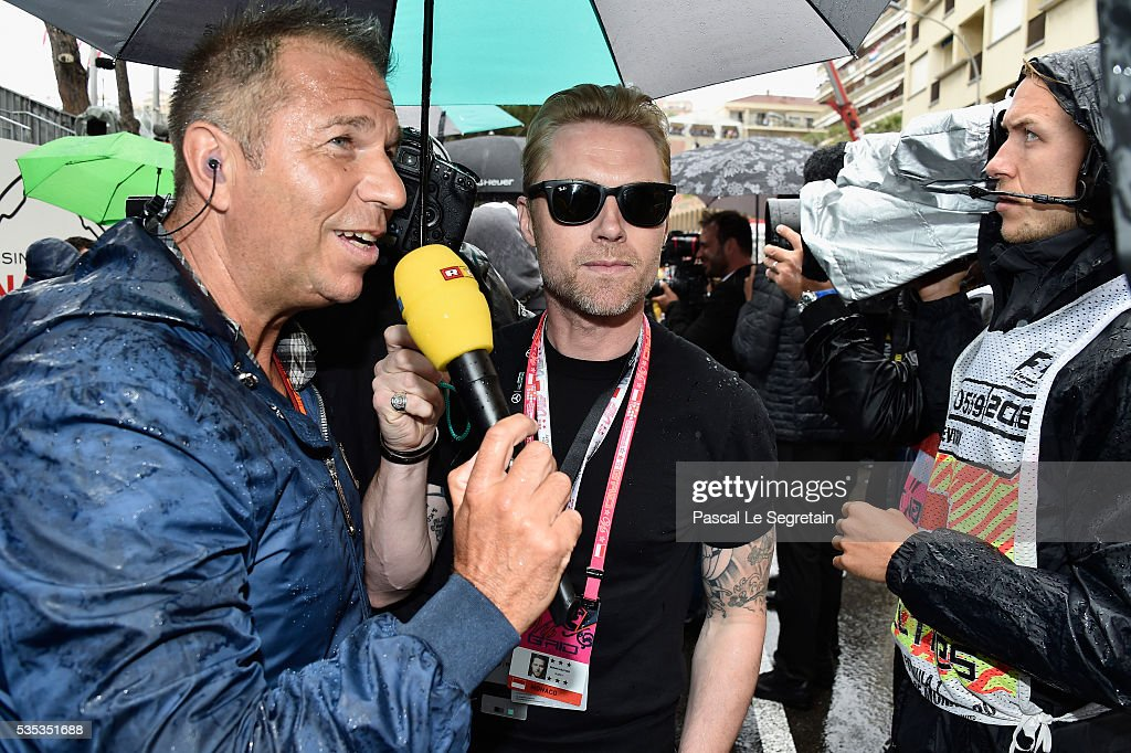 <a gi-track='captionPersonalityLinkClicked' href=/galleries/search?phrase=Ronan+Keating&family=editorial&specificpeople=201657 ng-click='$event.stopPropagation()'>Ronan Keating</a> attends the F1 Grand Prix of Monaco on May 29, 2016 in Monte-Carlo, Monaco.