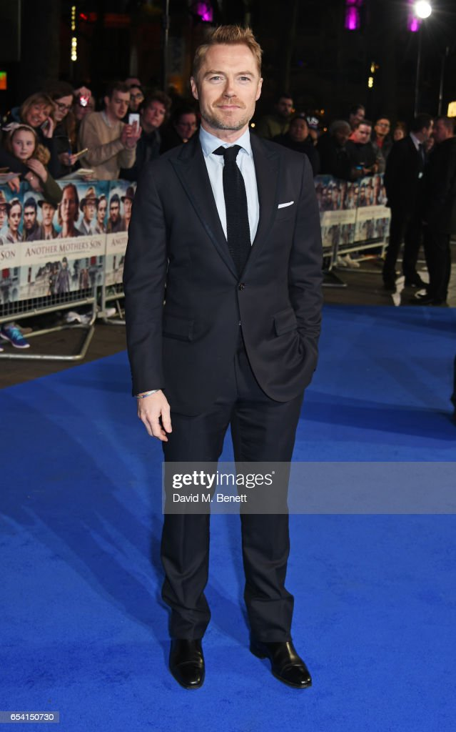 Ronan Keating attends the World Premiere of 'Another Mother's Son' on March 16, 2017 in London, England.