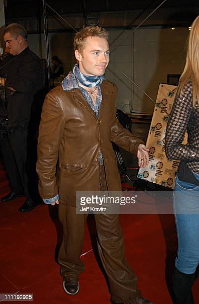 Ronan Keating during MTV European Music Awards 2002 at Palau Sant Jordi in Barcelona Spain