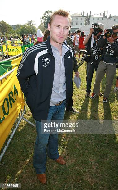 Ronan Keating during The Flora London Marathon 2007 Celebrity Start April 22 2007 in London Great Britain