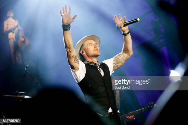 Ronan Keating performs on stage during the Thurn Taxis Castle Festival 2017 on July 16 2017 in Regensburg Germany