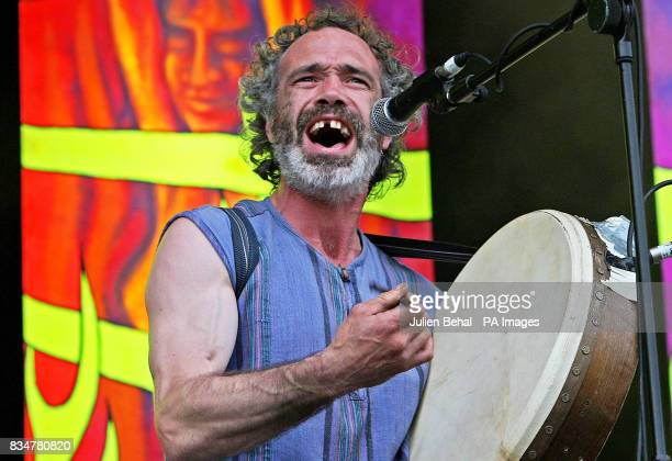 Ronan O Snodaigh of Kila plays on the main stagere at Ireland's largest boutique music festival The Electric Picnic which opens today The festival...