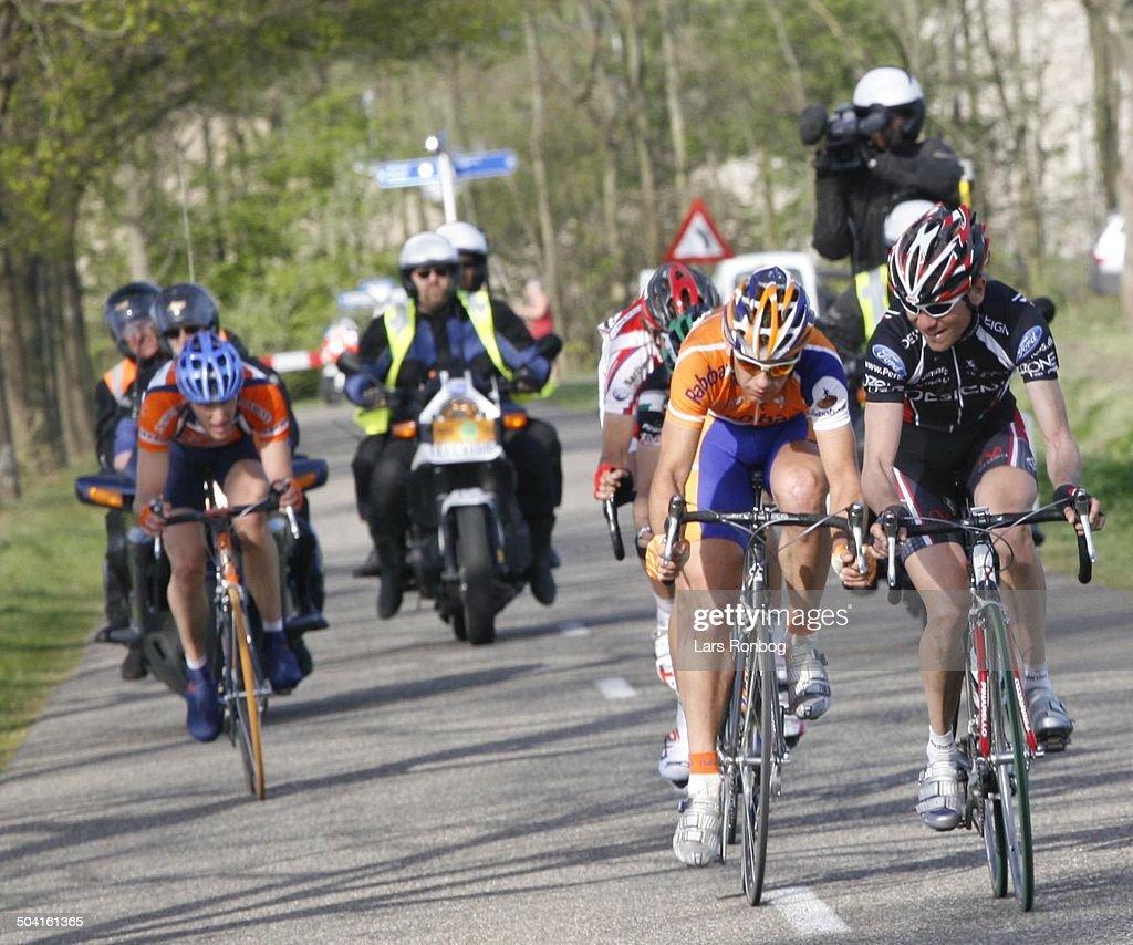 Ronde van Drenthe the Netherlands Martijn Maaskant Rabobank wins the race right no two Rene Jørgensen Team Designa Køkken