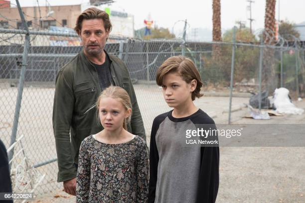 COLONY 'Ronin' Episode 213 Pictured Josh Holloway as Will Bowman Isabella CrovettiCramp as Grace Bowman Jacob Buster as Charlie Bowman