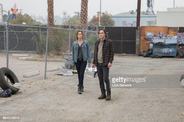 COLONY 'Ronin' Episode 213 Pictured Sarah Wayne Callies as Katie Bowman Alex Neustaedter as Bram Bowman