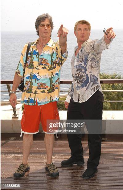 Ronn Moss and Winsor Harmon during 45th Monte Carlo Television Festival 'The Bold and the Beautiful' Photocall at Grimaldi Forum in Monte Carlo France