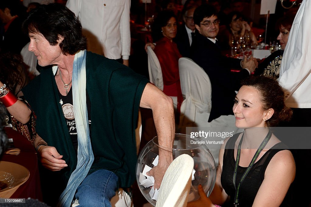 Ronn Moss attends Taormina Filmfest and Prince Albert II Of Monaco Foundation Gala Dinner at on June 16, 2013 in Taormina, Italy.