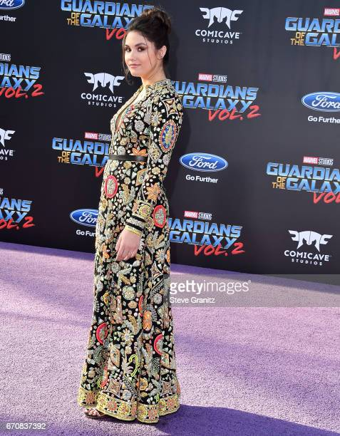Ronni Hawk arrives at the Premiere Of Disney And Marvel's 'Guardians Of The Galaxy Vol 2' at Dolby Theatre on April 19 2017 in Hollywood California