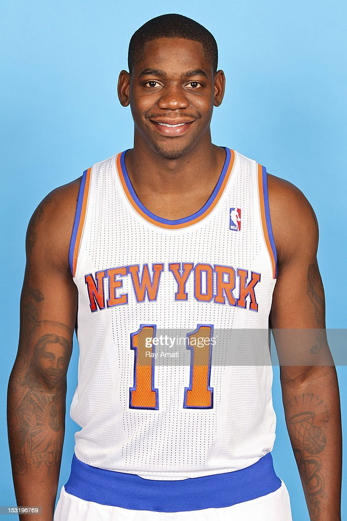 Ronnie Brewer #11 of the New York Knicks poses for a photo during the New York Knicks Media Day on October 1, 2012 at the Madison Square Garden Training Center in Tarrytown, New York.