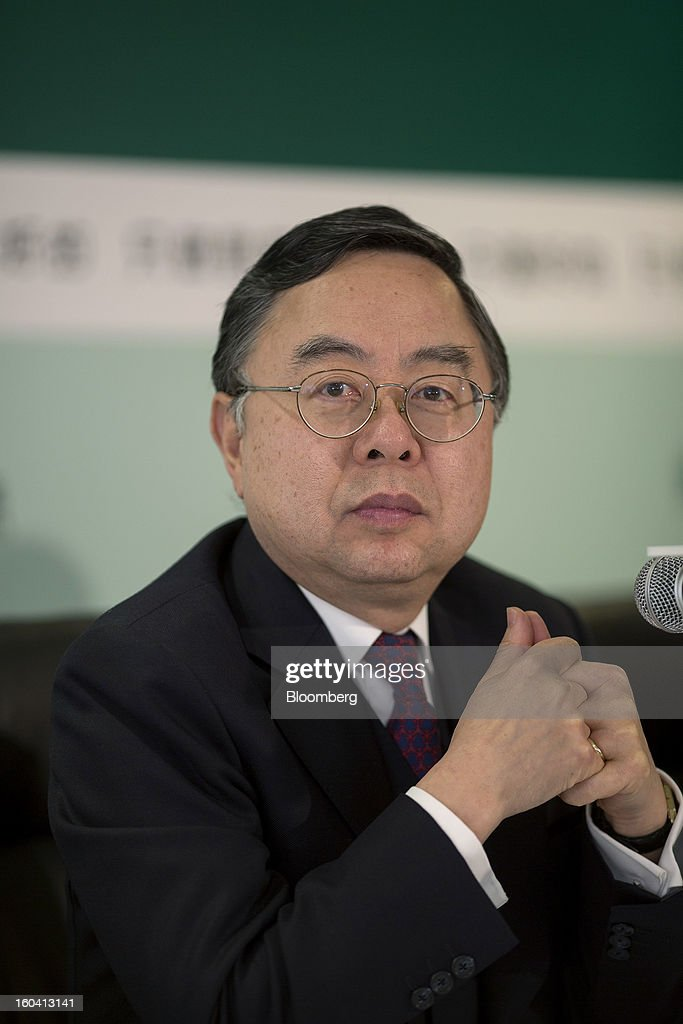 Ronnie Chan, chairman of Hang Lung Properties Ltd., attends a news conference in Hong Kong, China, on Thursday, Jan. 31, 2013. Hang Lung, the Hong Kong developer investing more than $8.5 billion building malls in mainland China, said 2012 underlying profit almost doubled after the company sold more properties in the city. Photographer: Jerome Favre/Bloomberg via Getty Images