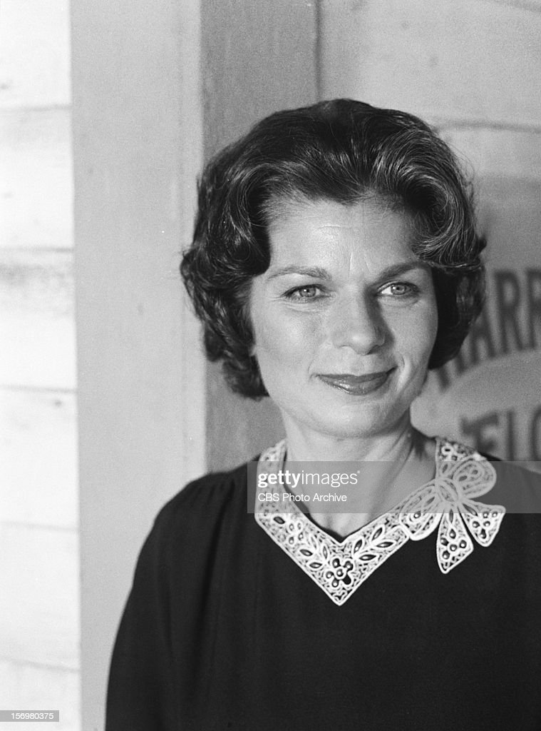 Ronnie Claire Edwards as Corabeth Godsey on THE WALTONS. Image dated August 4, 1978.