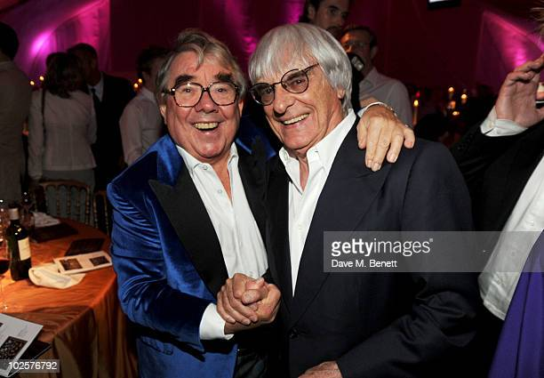 Ronnie Corbett and Bernie Ecclestone celebrated in style at The Old Vic 192 Summer Party supported by W Doha at Battersea Power station on July 1...