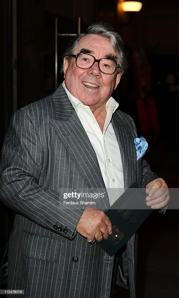 Ronnie Corbett attends the opening of Greens Restaurant and Oyster Bar on September 1 2009 in London England