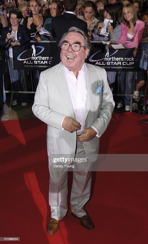 Ronnie Corbett during The Northern Rock All Star Charity Gala Red Carpet at Celtic Manor Resort in Newport Great Britain