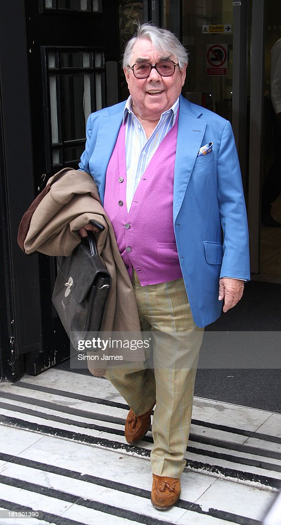Ronnie Corbett sighting at BBC radio two on September 20 2013 in London England